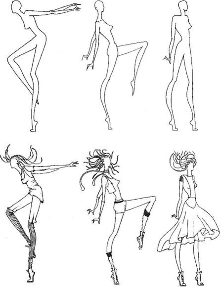 рисунок работы модели