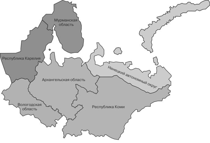 на карте курская обл