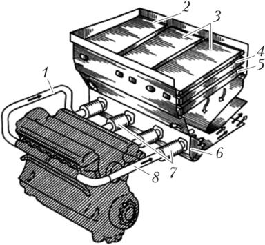 Эжекционная система охлаждения двигателя