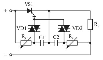 Тиристорный ключ на тиристоре GTO