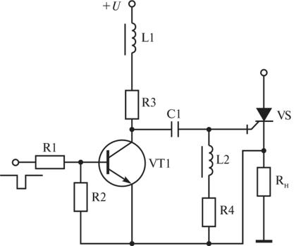 Тиристорный ключ на GTO, управляемый от источника однополярного напряжения ные