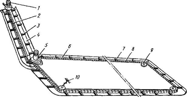 Принцип работы скребкового транспортера навозоудаления конвейер ленточный чертеж сборочный чертеж