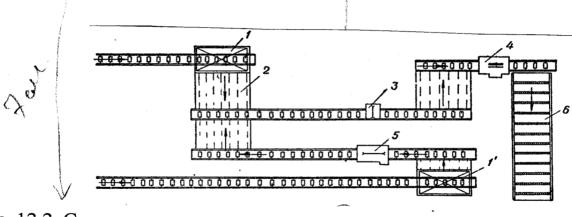 Схема поперечно цепной конвейер конвейер приснился