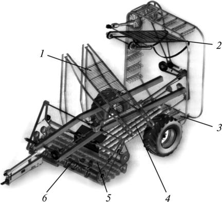 Элеватор загрузочный ставы ленточных конвейеров