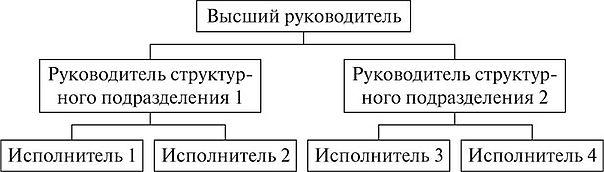 СИСТЕМА УПРАВЛЕНИЯ ОРГАНИЗАЦИЕЙ СТРУКТУРА ОРГАНИЗАЦИИ Экономика  Линейная структура управления организацией