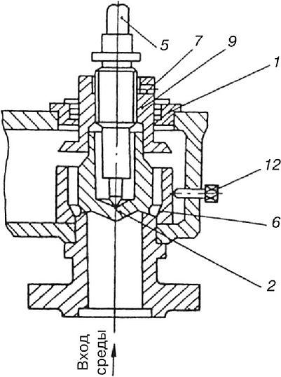 Клапан предохранительный пружинный без ручного подрыва, N6801, пружина 41