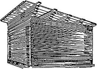 ТЕХНОЛОГИЯ АТМОСФЕРНОЙ СУШКИ ПИЛОМАТЕРИАЛОВ Деревообработка  При штучном способе доски укладывают в штабель рядами на прокладках В качестве прокладок используют те же доски которые укладывают в штабель для сушки